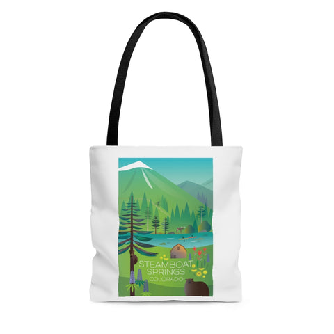 STEAMBOAT SPRINGS TOTE