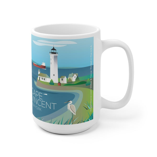 CAPE VINCENT 15 OZ MUG