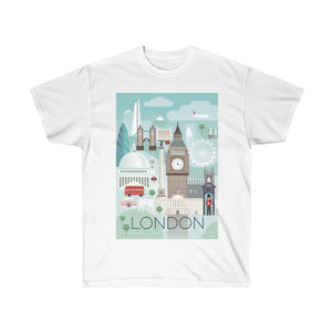 LONDON UNISEX ULTRA COTTON TEE
