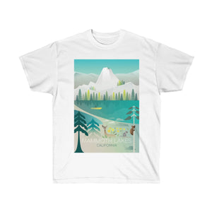 MAMMOTH LAKES UNISEX ULTRA COTTON TEE