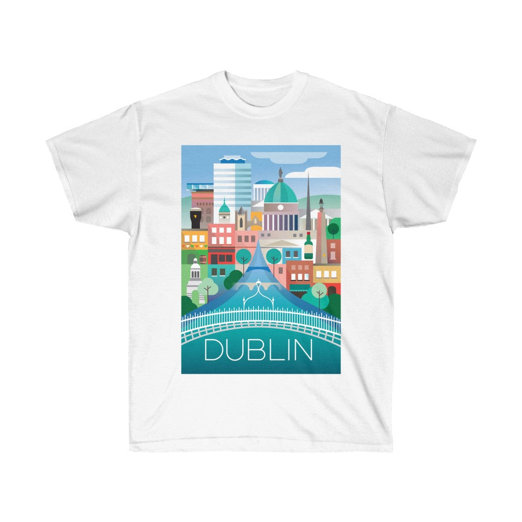 DUBLIN UNISEX ULTRA COTTON TEE