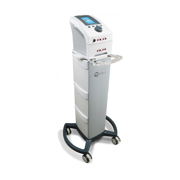 Buy, Purchase, Value, Quality, Low Price, Electrotherapy, EMS, TENS, NMES, IF, Wholesale, Physical Therapy, Chiropractic, InTENSity EX4 Professional Series with Therapy Cart, Electrotherapy, Roscoe Medical  - ATP Resources