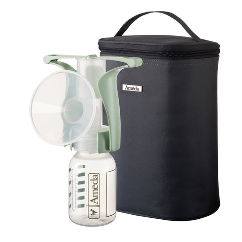 Ameda Manual Breast Pump with Tote