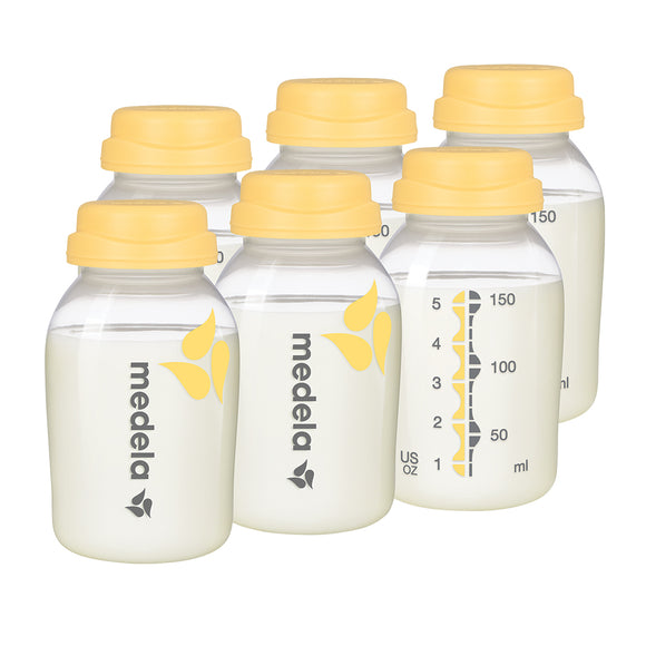 Medela Breastmilk Collection & Storage Bottle Set, Breast Pump Storage, Milliken Medical - ATP Resources