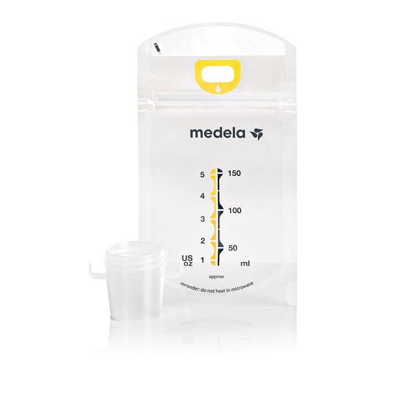Buy, Purchase, Value, Quality, Low Price, Electrotherapy, EMS, TENS, NMES, IF, Wholesale, Physical Therapy, Chiropractic, Medela Pump And Save Breastmilk Bags with Easy-Connect Adapter, Breast Pump Storage, Milliken Medical  - ATP Resources