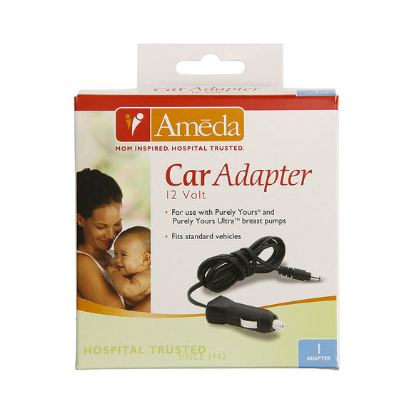 Ameda Purely Yours® Car Adapter, Breast Pump Parts, Milliken Medical - ATP Resources