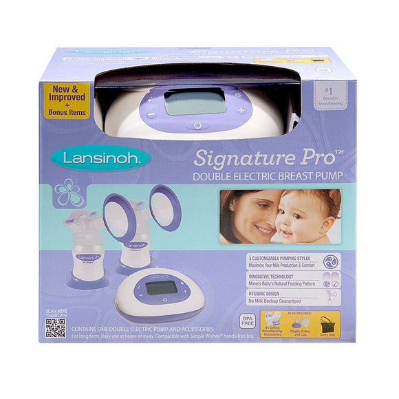Lansinoh Signature Pro® Double Electric Breastpump, Breast Pump, Milliken Medical - ATP Resources