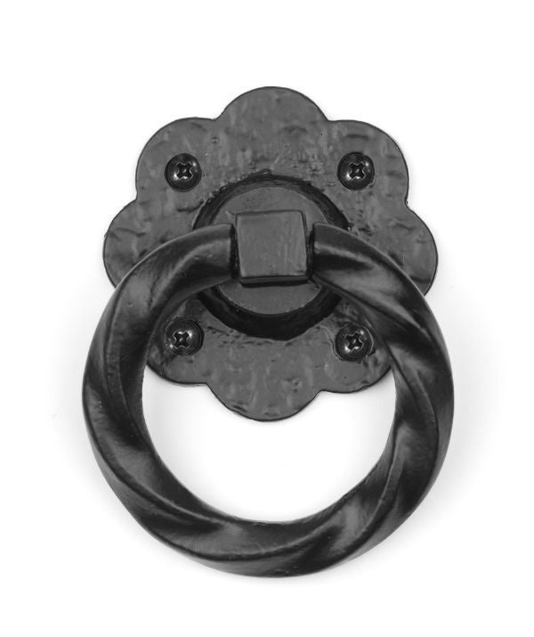 Floral Ring Handle 3''  | Hardware