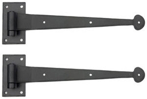 Suffolk Style Strap Hinge Set - 12