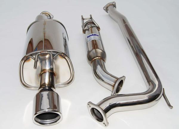 Invidia RSX TypeS Q CatBack Exhaust Polished Tip - Acura rsx type s exhaust