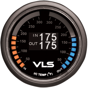 REVEL VLS OLED INTERCOOLER DUAL TEMPERATURE GAUGE
