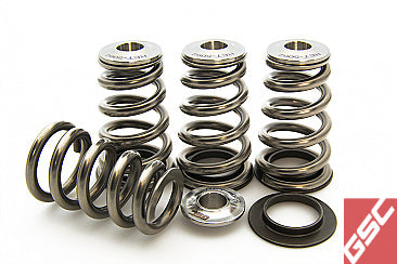 GSC Power-Division High Pressure Single Conical Valve Spring and Ti Retainer kit 4B11T