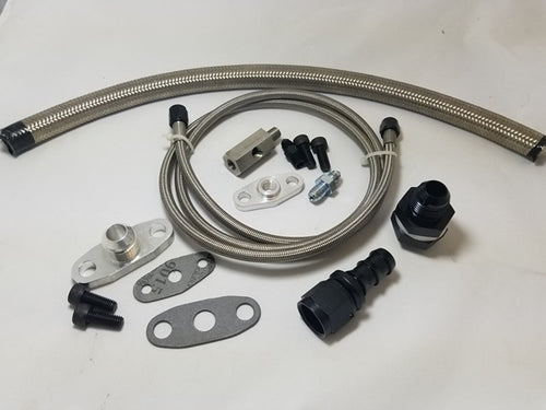Oil Feed and Return Line Kit (eBay type kits Honda/Acura)