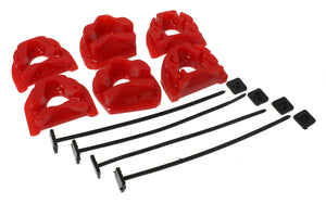ENERGY SUSPENSION 94-01 INTEGRA / 99-00 CIVIC SI RED MOTOR MOUNT INSERTS