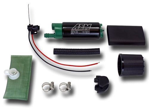 AEM E85 High Flow In-Tank Fuel Pump Semi Universal with install kit