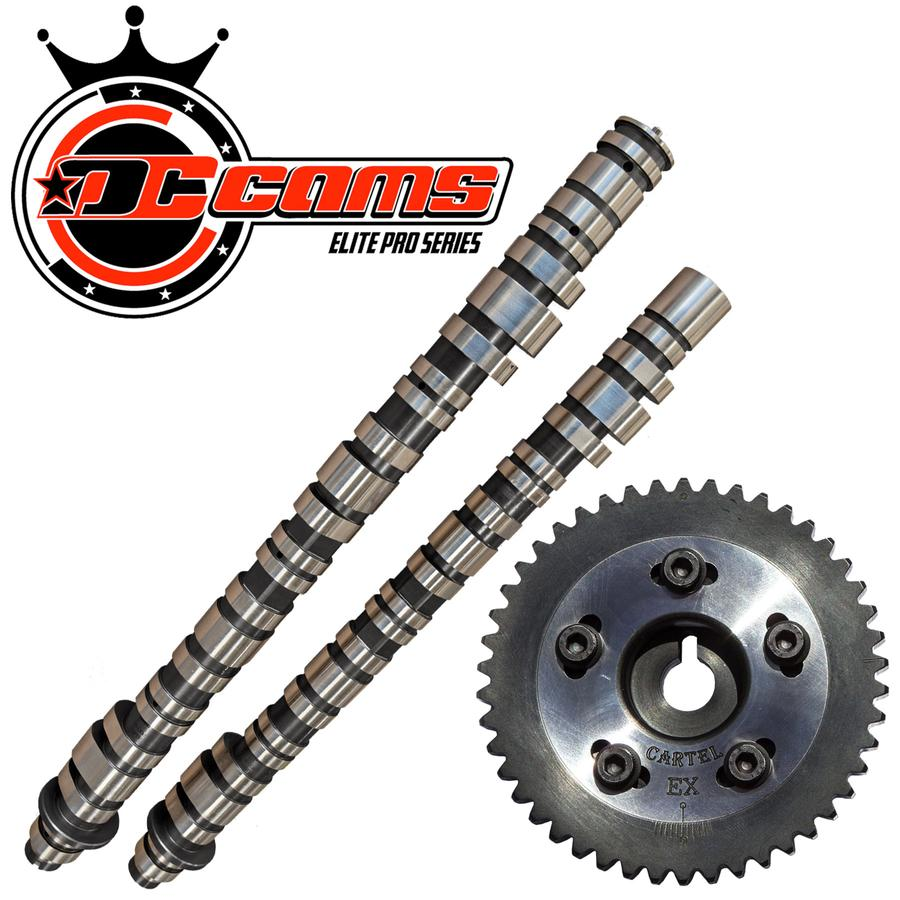 DRAG CARTEL ELITE PRO CAMSHAFT & EXHAUST CAM GEAR SPECIAL