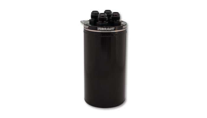 Vibrant Universal CATCH CAN WITH 4 ADAPTERS ON CAP