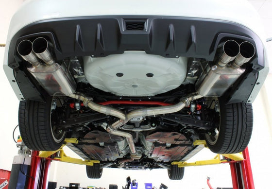 Perrin Non-Resonated Catback Exhaust 15+ WRX/STi