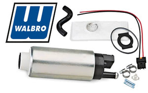 Walbro 255lph fuel pump with grams 1000cc injectors combo kit