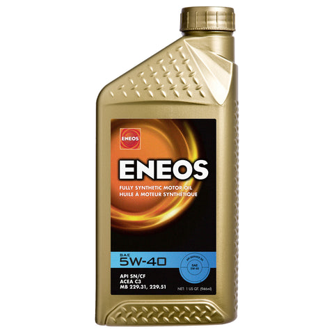 Eneos 5w-40 full synthetic