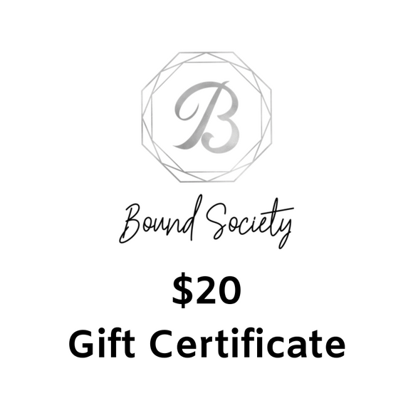 $20 Gift Certificate - Southern Sins Boutique