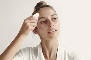 How to massage your face with Gua Sha