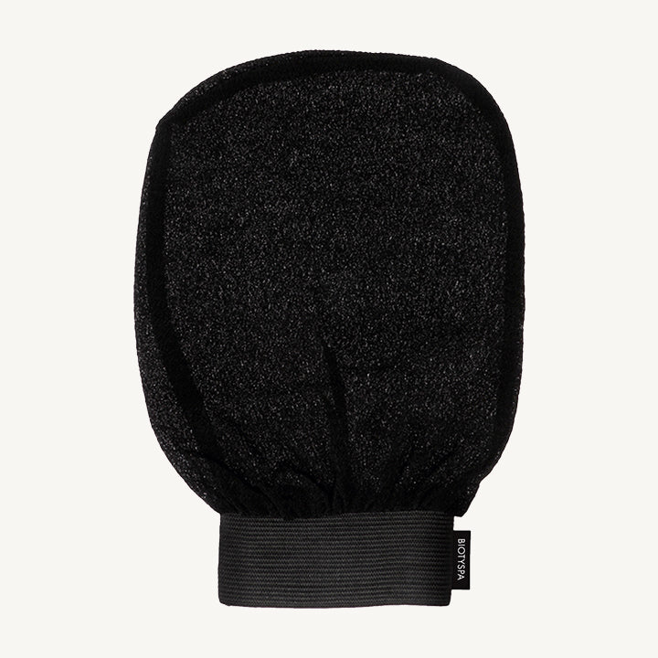 spa exfoliant glove