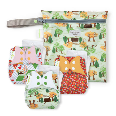 bumGenius Original 5.0 - Little House in the Big Woods Collection - Keepsake Set