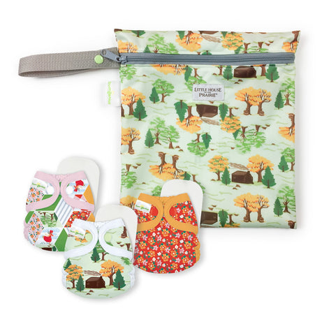 bumGenius Littles 2.0  - Little House in the Big Woods Collection - Keepsake Set