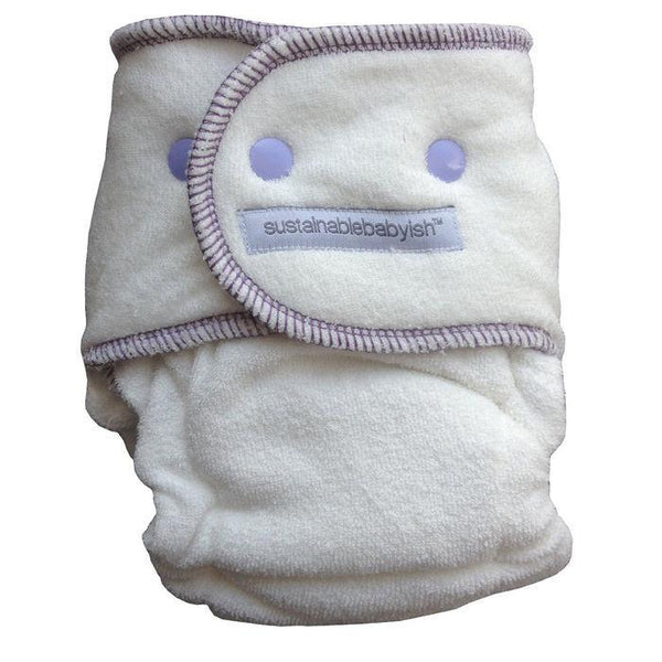 Sloomb Sustainablebabyish Happy Little Clouds Bamboo