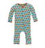 KicKee Pants Print Coverall w/Snaps