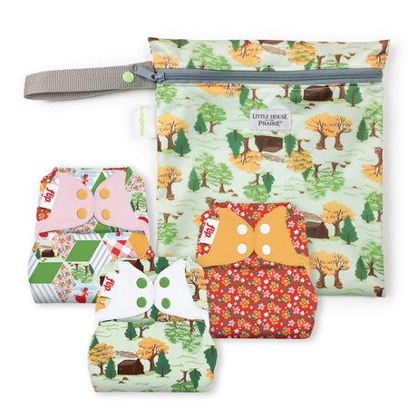Flip Diapers - Little House in the Big Woods Collection - Keepsake Set
