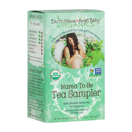 Earth Mama Angel Baby Mama-To-Be Tea Sampler