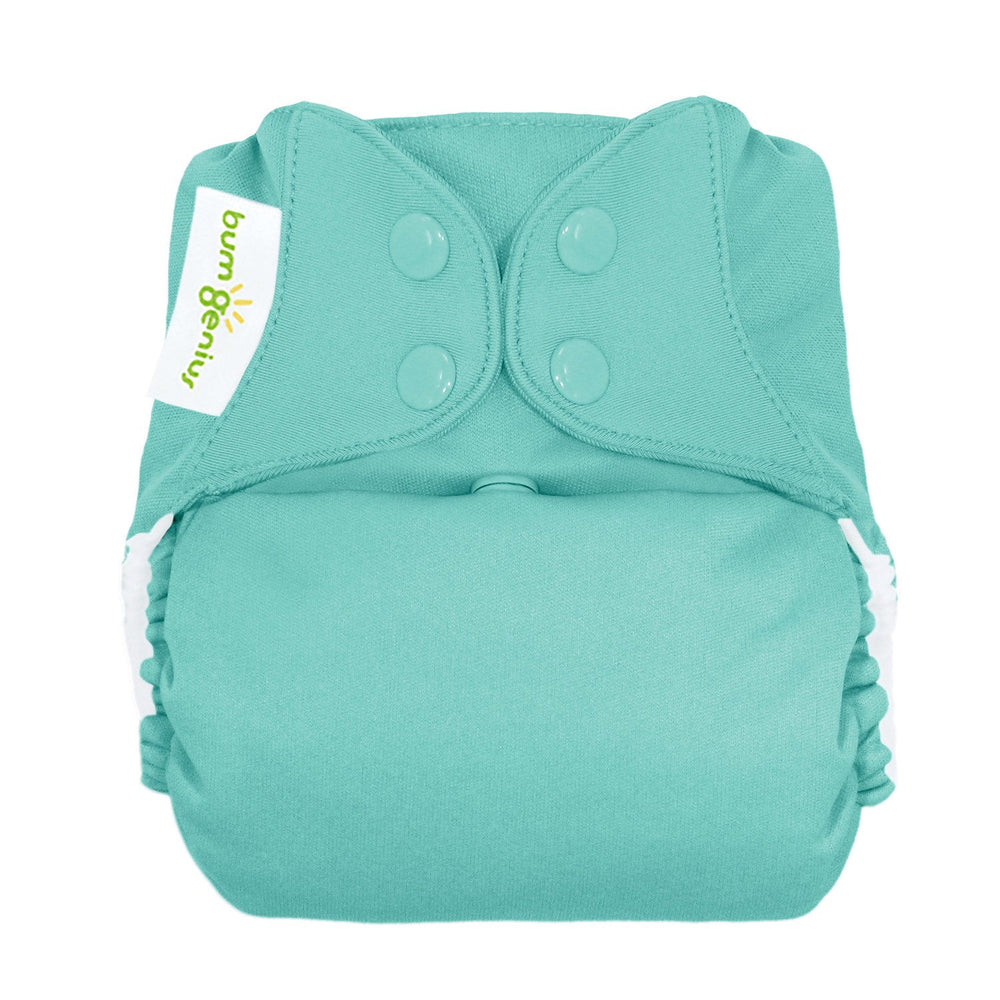 Bumgenius Freetime All In One One Size Cloth Diaper Cotton Babies