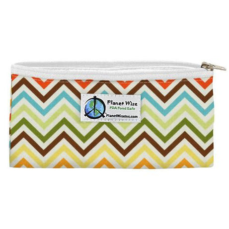 Planet Wise Reusable Zippered Snack Bags