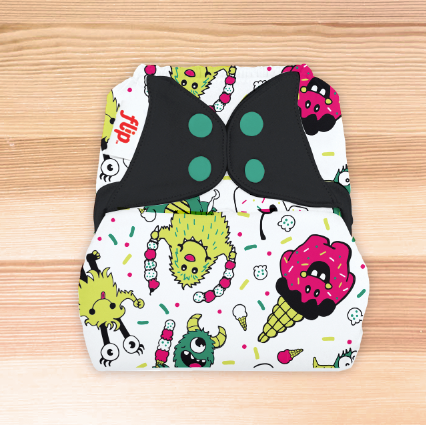 Flip Diaper Cover  - The Doodles Collection SINGLES