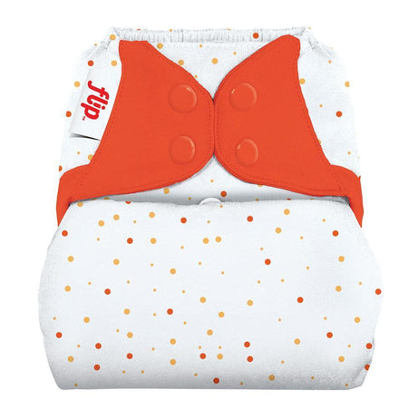 SECONDS: Flip Diaper Cover - Sassy Dots