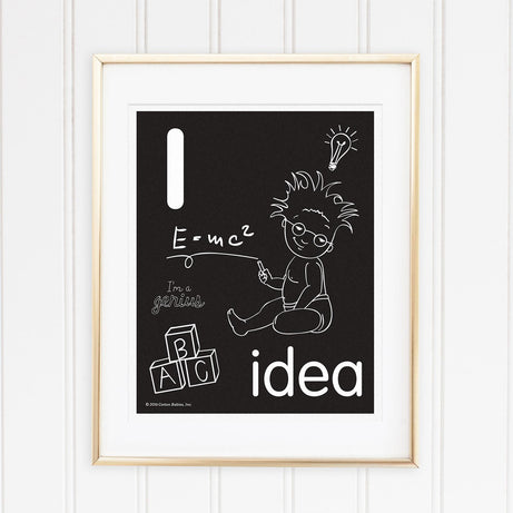 Genius Series Art Print - Letter I