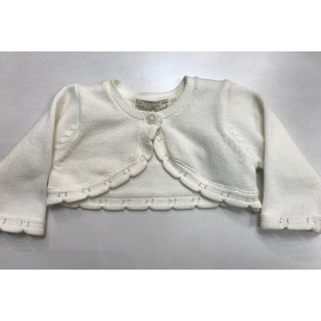 Mayoral Basic Knitted Cardigan - Natural