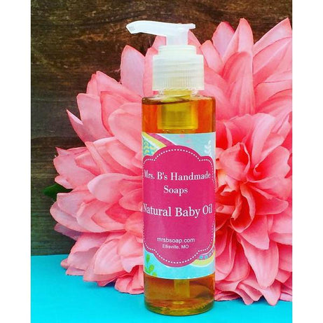 Mrs. B's Handmade Soaps Natural Baby Oil
