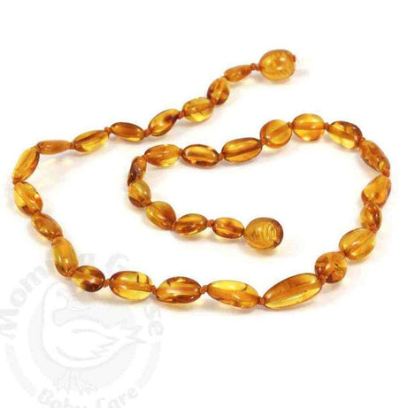 Momma Goose Polished Amber Beads