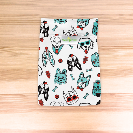 bumGenius Wet Bags - The Doodles Collection SINGLES
