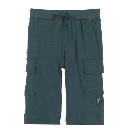 Kickee Pants - Solid Cargo Sweatpant