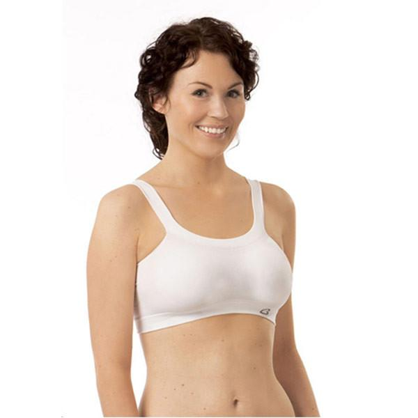 2924271eb09eb Carriwell Seamless Organic Cotton Nursing Bra WHITE - SMALL – Cotton ...