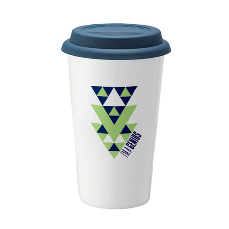 Genius Series Sierpinski Travel Mug