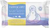 Natracare Organic Cotton Baby Wipes
