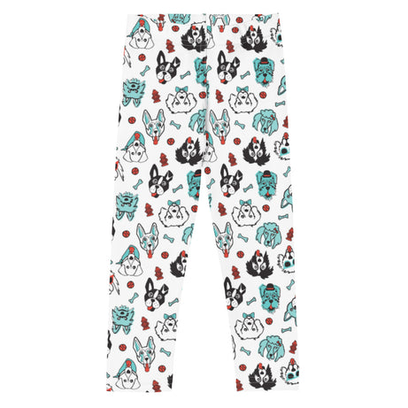 Doodles Collection Little Kid Leggings - Pawsome