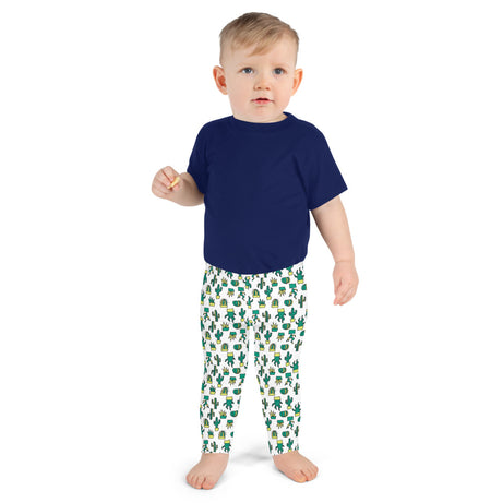 Doodles Collection Little Kid Leggings - CACTacular
