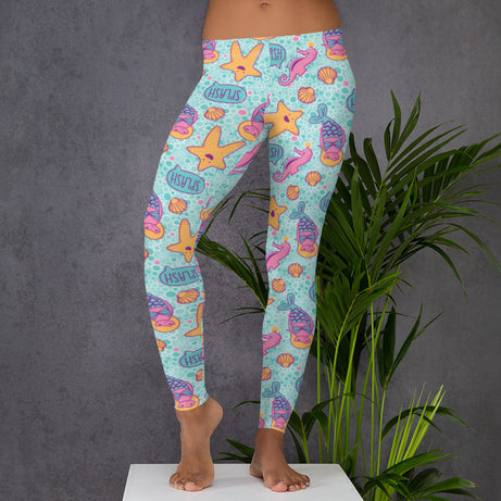 Genius Series Adult Leggings - Marie