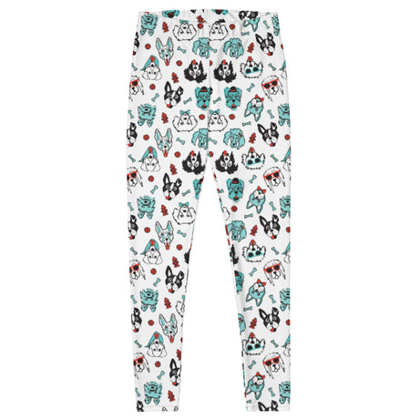 Doodles Collection Adult Leggings - PAWsome